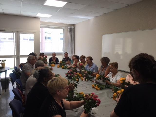 Atelier de décoration florale