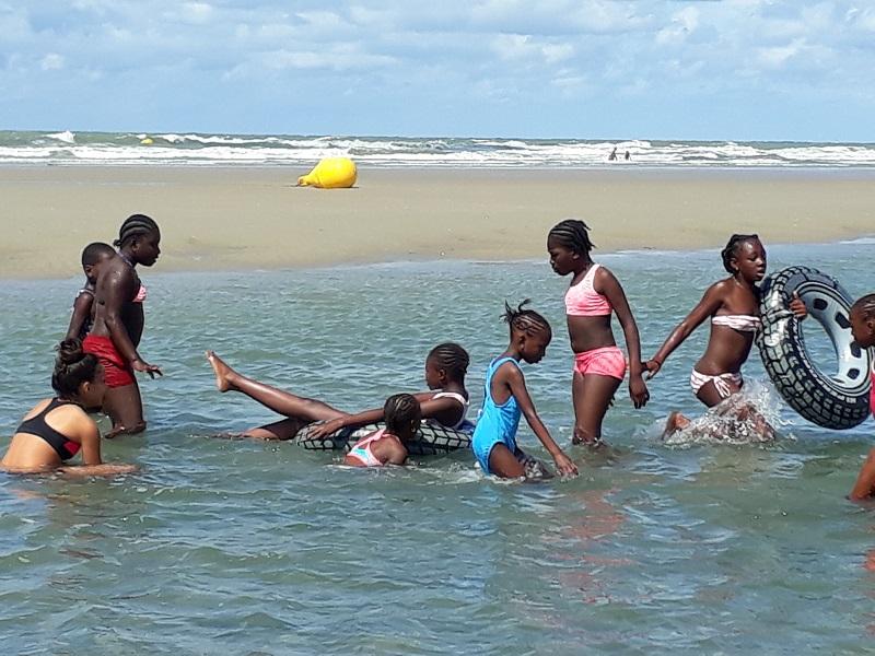 Sortie à la mer en famille