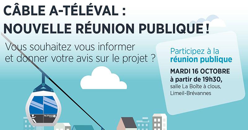 Câble A Téléval: réunion publique mardi 16 octobre
