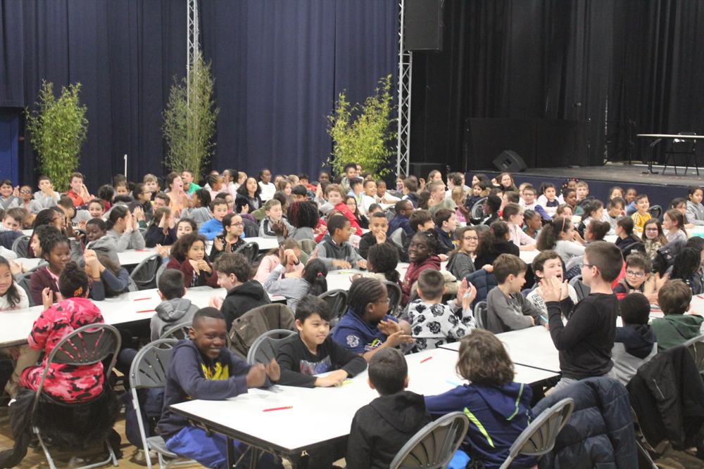 280 écoliers à la Dictée du Lions Club