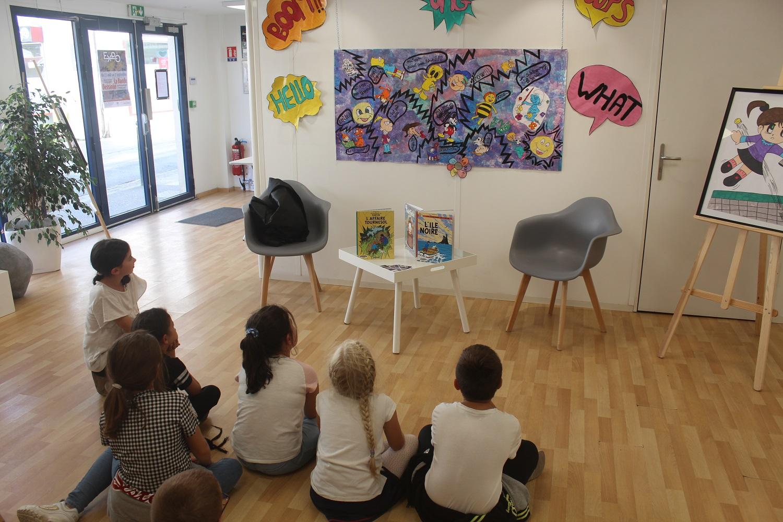 La BD s'expose à La Galerie