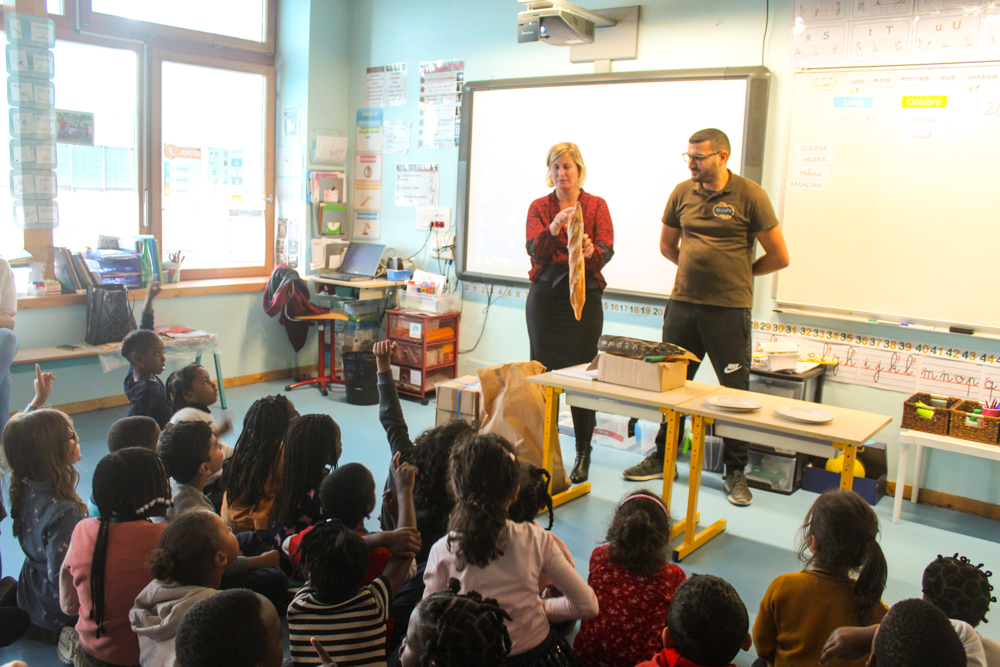 Fête du goût à l'école Martine Soulié
