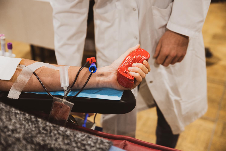 Don du sang: près d'une centaine de volontaires!