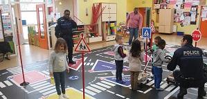 Sensibilisation à la sécurité routière des écoliers