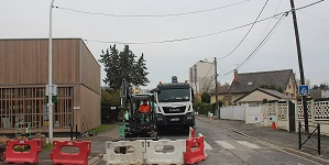 Enfouissement des réseaux rue Emile-Zola