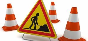 Travaux route de la Ballastière: circulation interdite