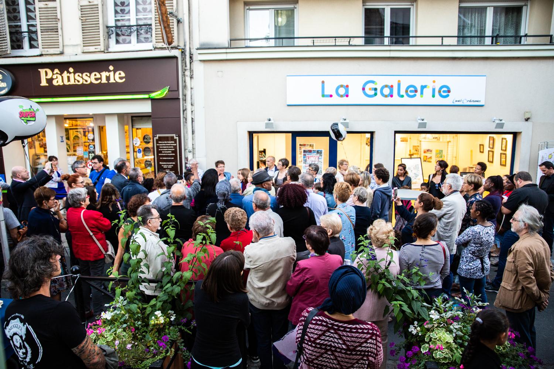 Inauguration de la Galerie