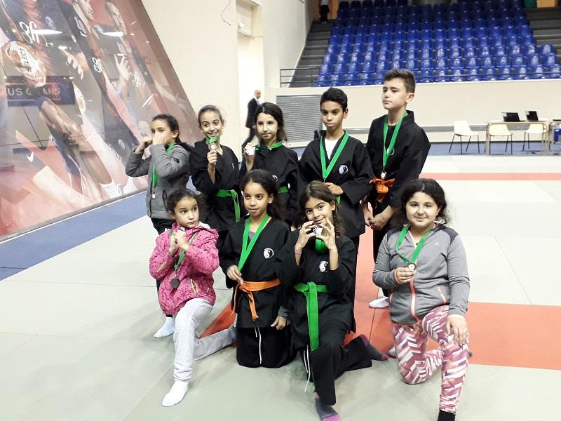 Coupe Interstyles: les jeunes Brévannais raflent 9 médailles