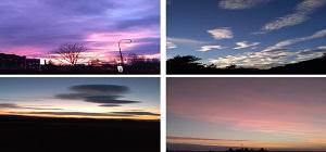 Exposition de photos sur le ciel dans notre vie de tous les jours