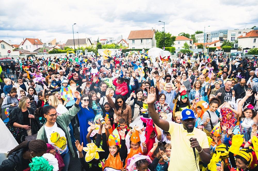 Grande liesse populaire pour le retour du carnaval
