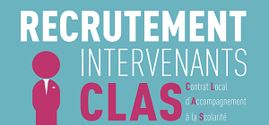 Recrutement Intervenants CLAS