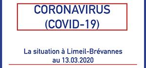 Coronavirus: La situation à Limeil-Brévannes