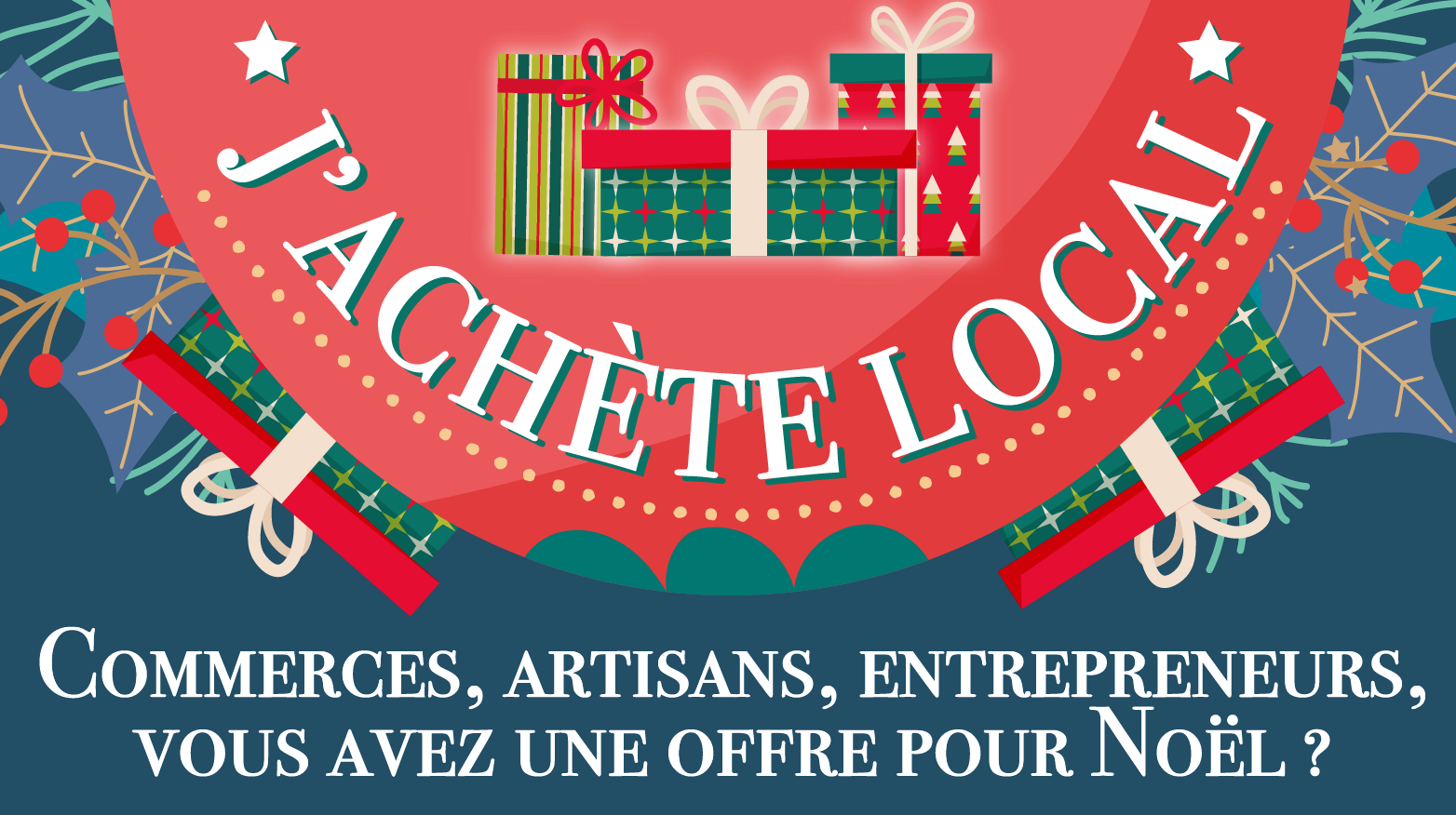 Noël à Limeil-Brévannes: j'achète local!