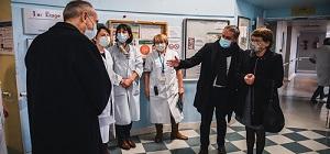 Lancement de la campagne de vaccination contre la Covid-19 pour tous les professionnels de santé de plus de 50 ans.