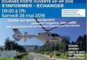 Journée porte ouverte AP-HP à l'Hôpital Emile Roux