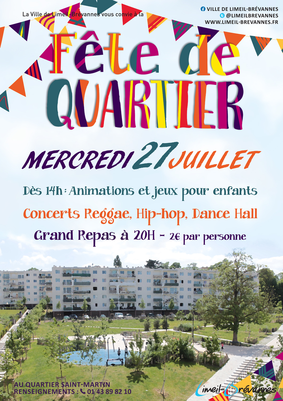 Fête du quartier Saint-Martin