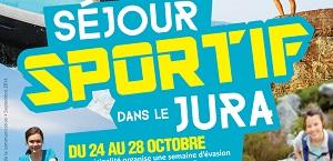 Séjour sportif dans le Jura pour les 11-17 ans du 24 au 28 octobre