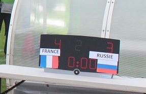 Tournoi international U16 : France-Russie 4 à 3