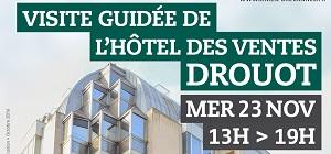 Inscrivez-vous à la visite guidée de l'Hôtel des ventes Drouot
