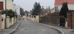 Rue Pasteur: pose de l'enrobé du 20 au 24 février