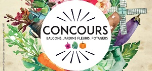Participez au concours communal des balcons, jardins fleuris et potagers